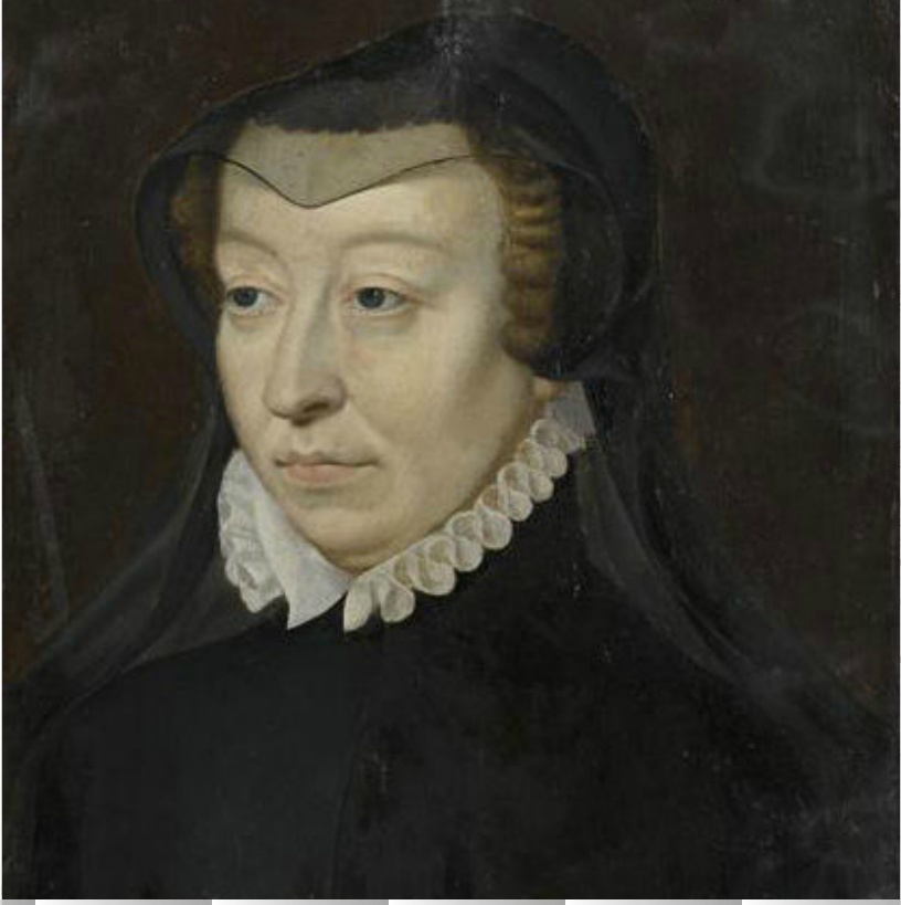 Date unknown - Catherine de Medicis - French school