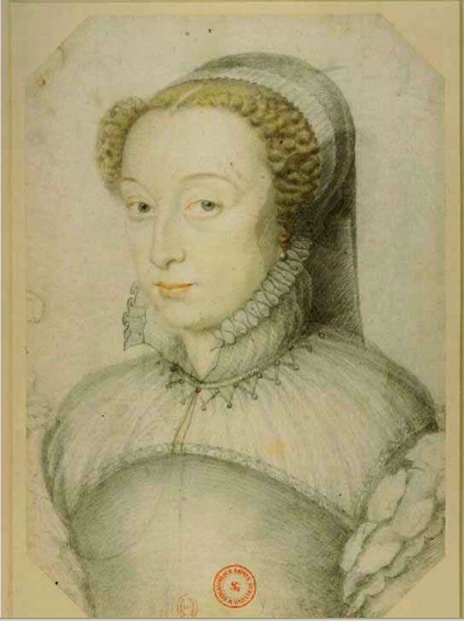 date unknown - Catherine de Medici (widowed) - Clouet