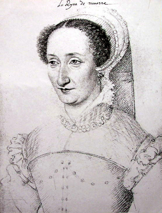 date unknown (between 1555 and 1572) - Jeanne d'Albret - queen of navarre