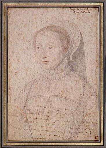 1550 (approx) - Barbe Cauchon de Maupas - CLOUET François (studio of?)