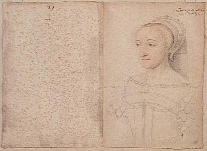 date unknown - Philippe de Montespedon princesse de La Roche-sur-Yon (1505-1578)- CLOUET François (atelier)