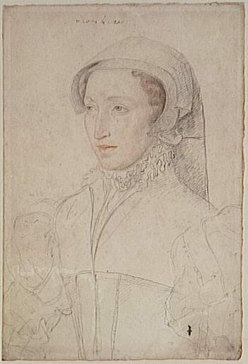 date unknown - Françoise de Mareschal du Pin dame de Mitte-et-Miolans (1520-1575) - CLOUET François (atelier)