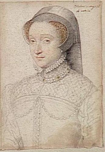 date unknown - Jacqueline de Rohan, marquise de Rothelin (1520-1586) - CLOUET François (atelier)