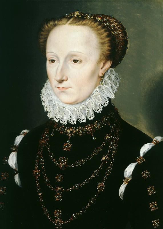1570 - Madeleine le Clerc du Tremblay - Clouet
