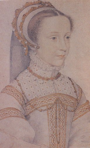 1555 - Mary Queen of Scotts (at age 13)