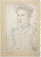 date uknown - La royne de Navare estant jeune - Marguerite de Valois,