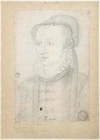 1575 (approx) - Anne d'Este, duchesse de Guise, puis de Nemours