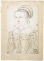 date unknown (probably 1560s) - Catherine Marie de Lorraine, duchesse de Montpensier
