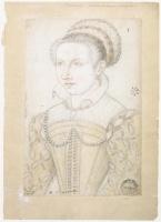 date unknown (probably 1560s) - Catherine Marie de Lorraine, duchesse de Montpensier