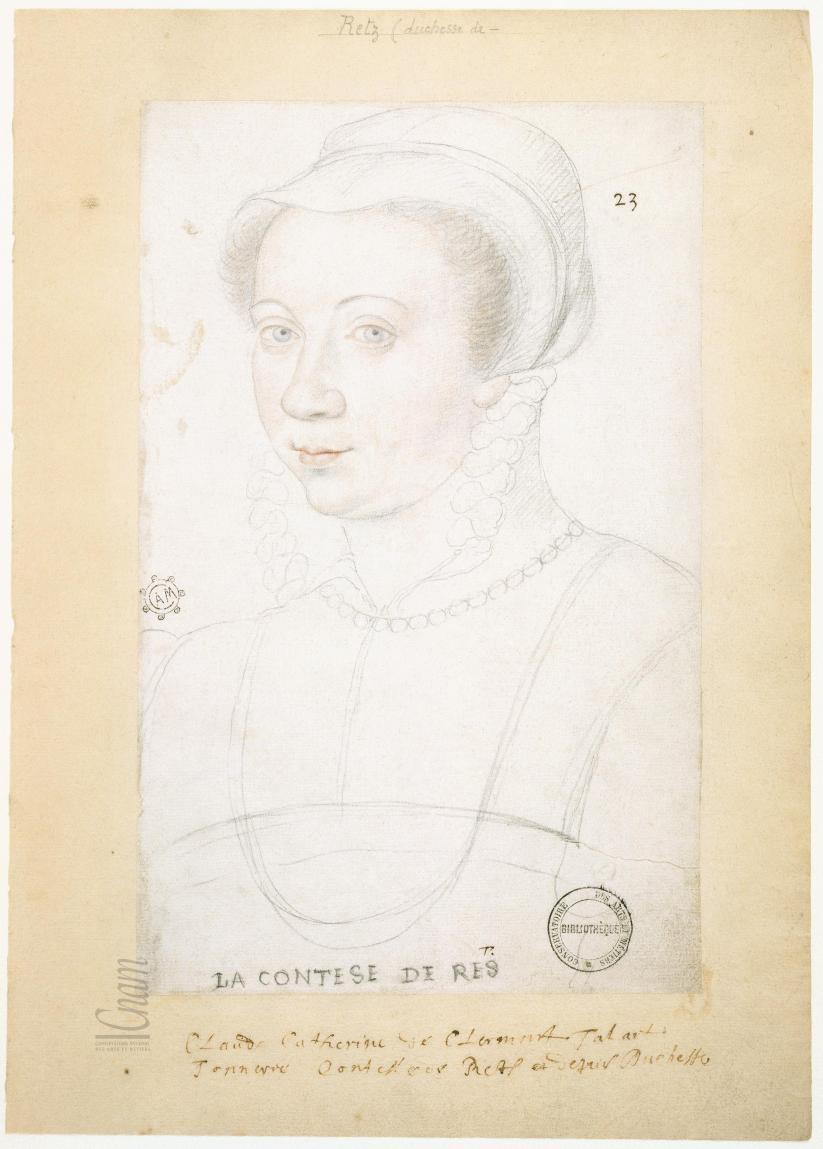 date unknown (after 1550) - Claude–Catherine de Clermont–Tonnerre, La Contese de Rés
