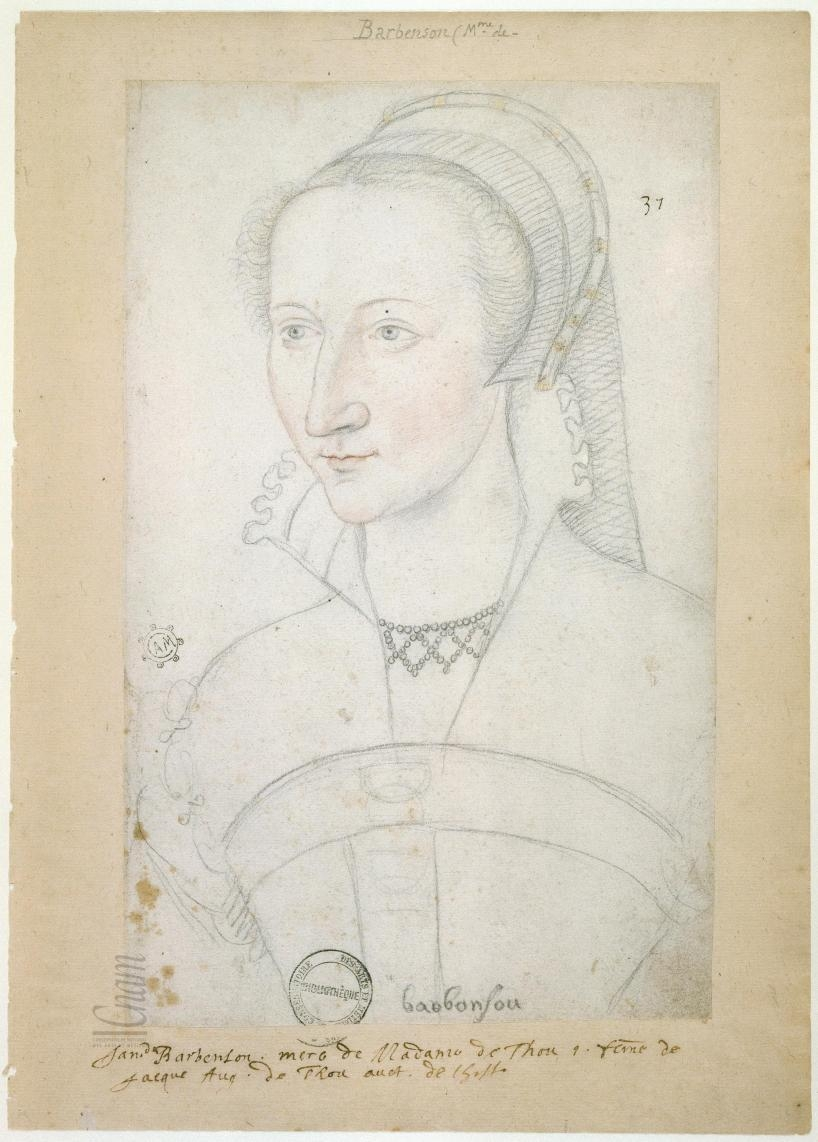 date unknown - thought to be of Catherine de Barbasan