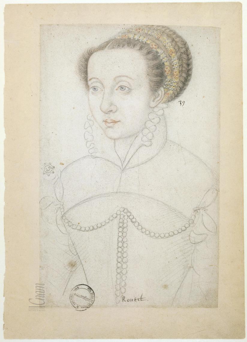 date unknown - Louise de La Béraudière, demoiselle de Rouet