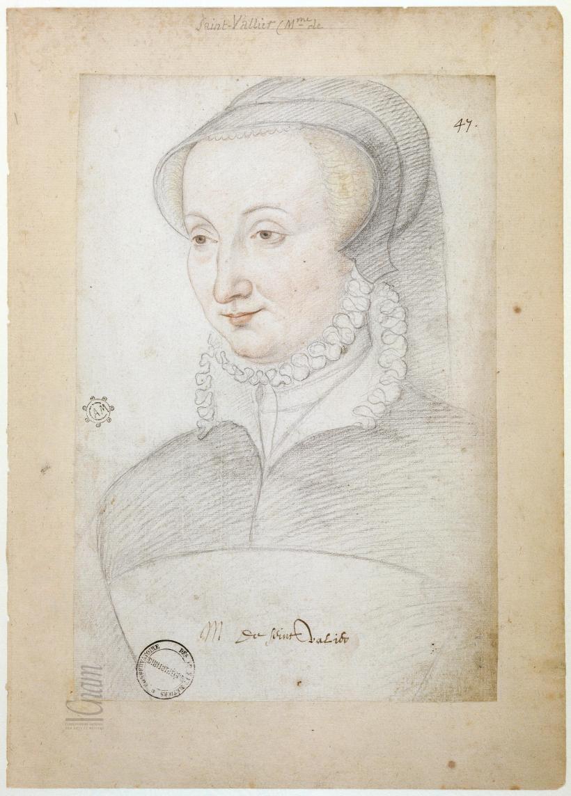 date unknown - Madame de Seint Valier – Françoise de Polignac