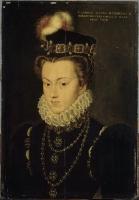 date unknown (before 1572) -Elisabeth d'Autriche (1554-1592), reine de France - attrib to Clouet