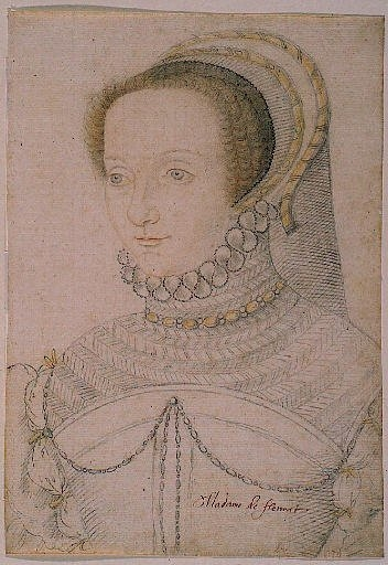 date unknown - Isabeau, Baronne de Floratud ? - Clouet