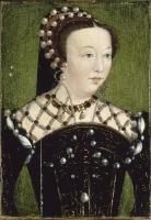 1556 - Catherine de Médicis, reine de France (1519-1589) by Clouet