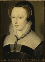 date unknown - Diane de France, duchesse d'Angoulême - attrib to Clouet