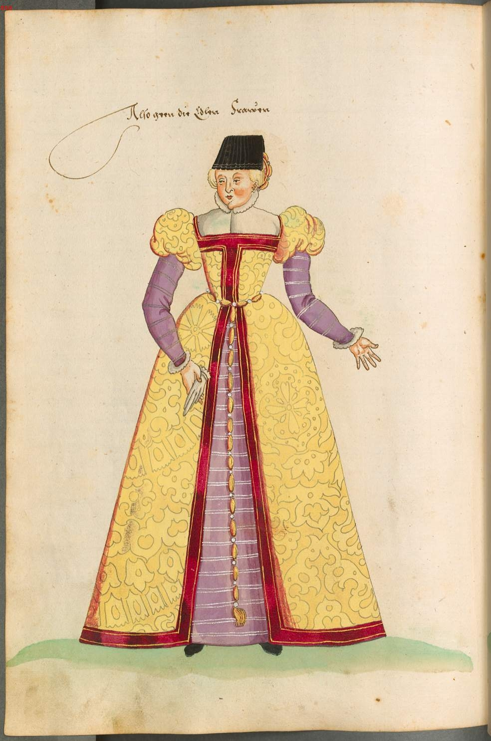 date unknown - Costumes for men and women: Cologne, Flanders, Holland, Friesland, Burgundy, France