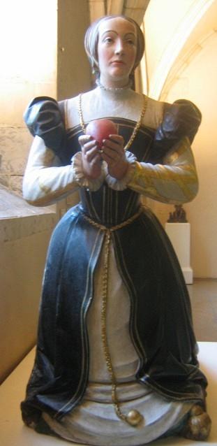 1571 (approx) - Scultpure pour le monument funéraire d'Antoinette de Fontette . - http://en.wikipedia.org/wiki/File:Dijon_Mus%C3%A9e_fontette.jpg