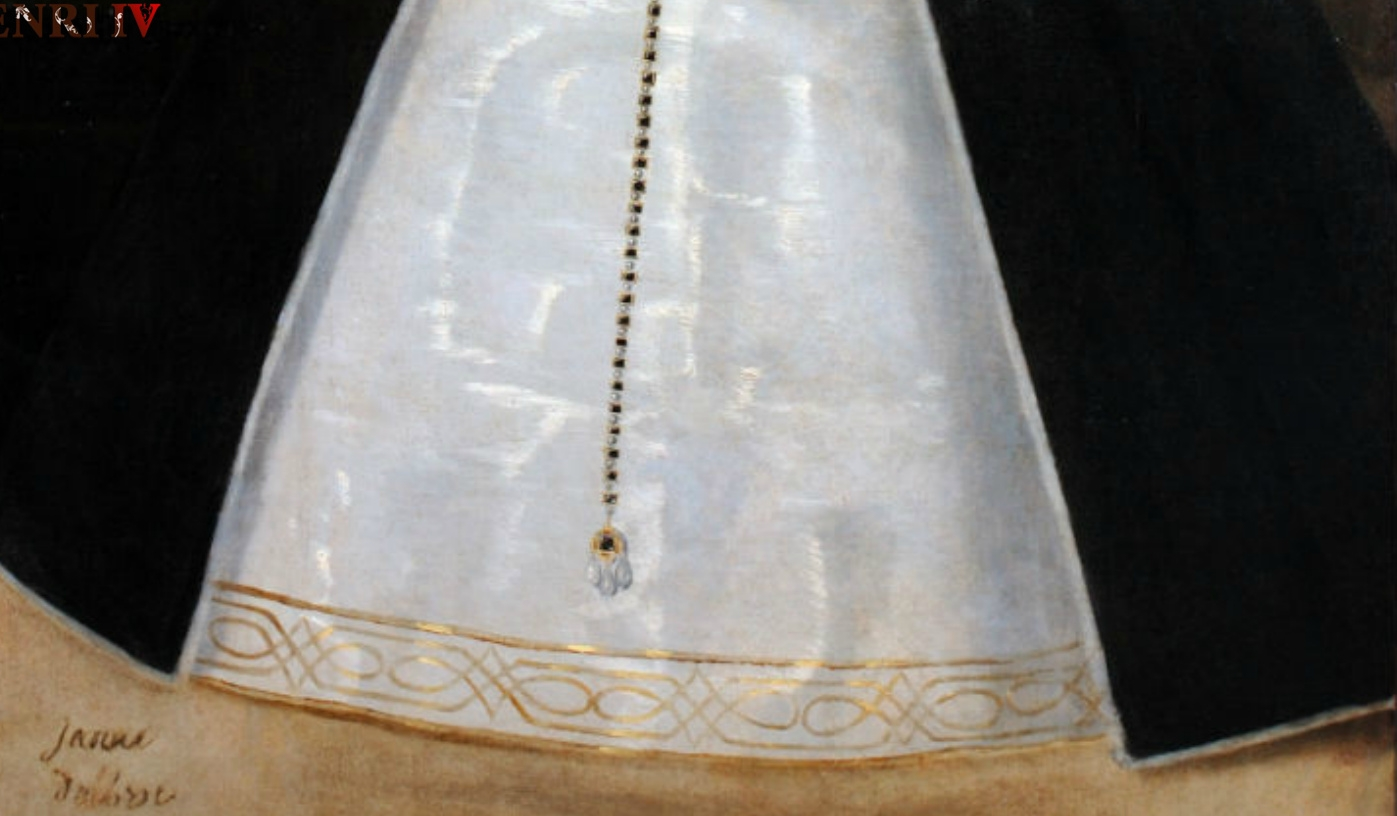 1560s ? (before 1572) - Jeanne d'Albret - skirt hem