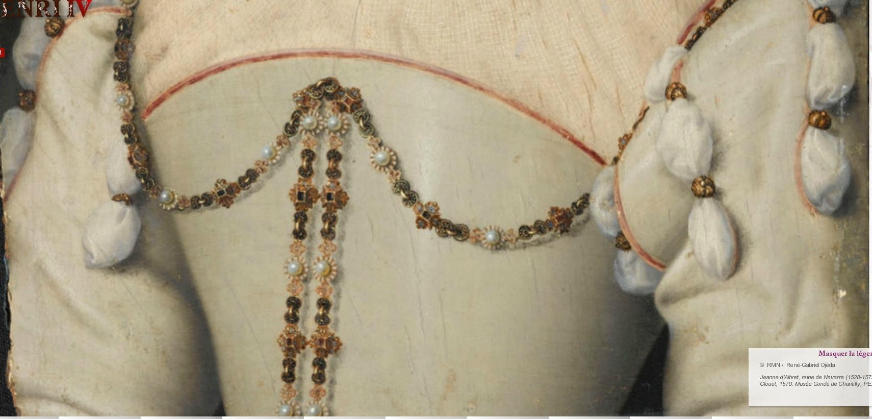 1570 - Jeanne d'Albret - by Francois Clouet