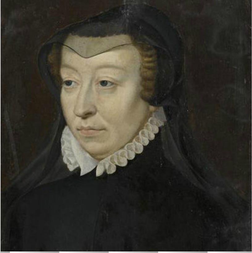 Date unknown - Catherine de Medicis - French school