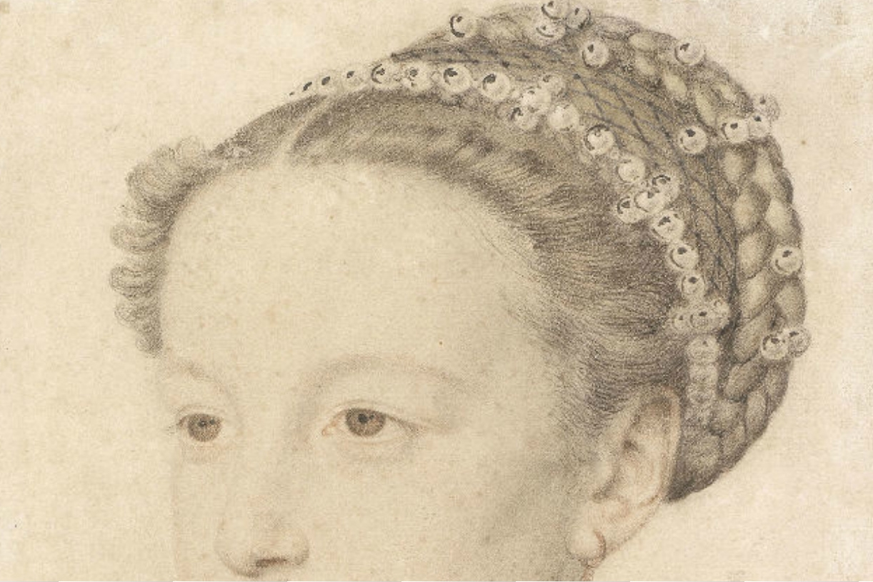 1559 - Queen Margot as a child - by Francois Clouet