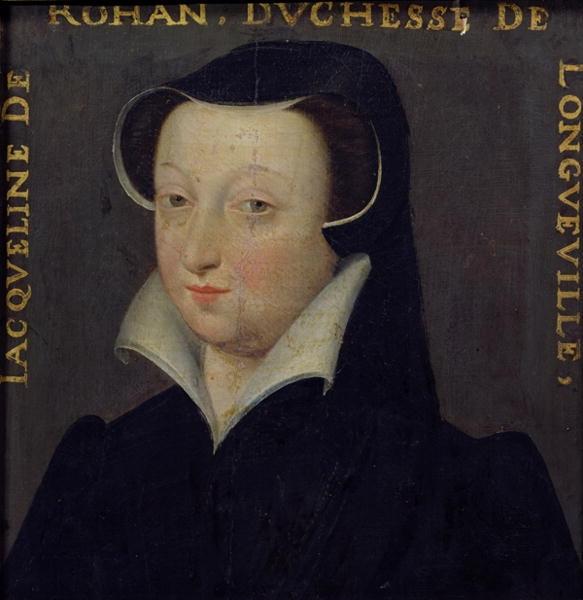Date unknown - Jacqueline de Rohan, Duchesse de Longueville - school of Clouet