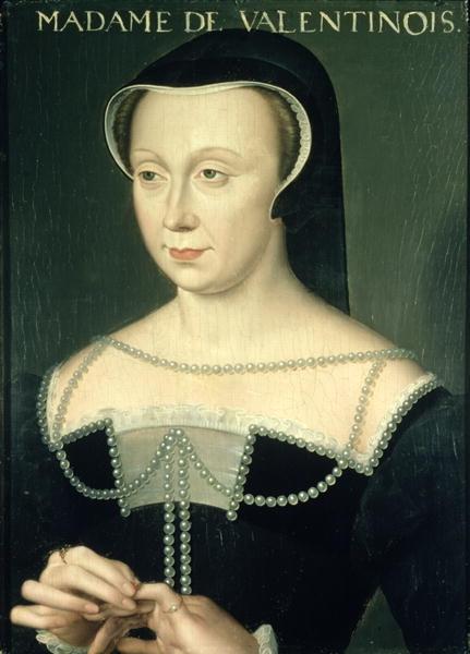 Date unknown - Madame de Valentinos - School of Clouet