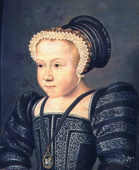 1550 (approx) - Margaret, Queen of Navarre, as a child - French school