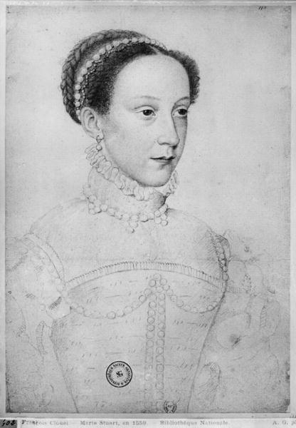 1559 - Mary I Stuart, Queen of Scots - Clouet