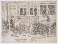 1562 - La prise de Vallence en Dauphiné où fut tué le sieur de la Motte Gondrin