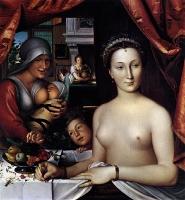 1571 - Diane de Poitiers - by CLOUET, François