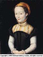 1550 (estimated) - Portrait of a Woman - CORNEILLE de Lyon