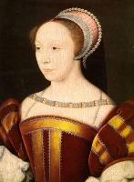 1550 - Francoise de Breze, Duchess de Bouillon - (by Francois Clouet)