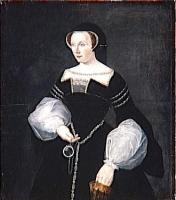 1550 (approx) - Diane de Poitiers after François Clouet (Versailles)