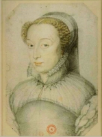 date unknown - Catherine de Medici (widowed) - Clouet