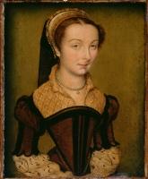 1555 - Portrait of Louise de Halluin, dame de Cipierre by Corneille de Lyon