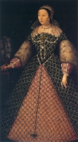1555 (approx) - Catherine de' Medici, wife of Henry II. of France