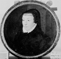 1564 - CATHERINE DE MEDICIS - studio of François CLOUET