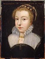 1571 - MARGUERITE DE VALOIS, REINE DE FRANCE (1553-1615) - artist unknown