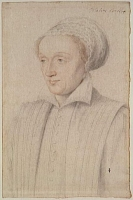 1550s (estimated) - Claude de Rieux, dame d'Andelot (1525-1562) - CLOUET François