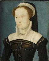1560s (estimated) - PORTRAIT D'INCONNUE - style of CORNEILLE DE LYON