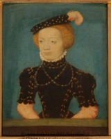 1550 -59 - Marguerite of France (1523-74) Duchess of Berry