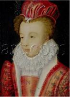 1572 (approx) - Marguerite De Valois (1553-1615) - Clouet