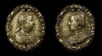 1558 - Médaille ovale - http://gallica2.bnf.fr/ark:/12148/btv1b7700186f