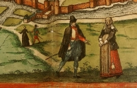 1575 - Metz - French Dress Images from the Civitates Orbis Terrarum