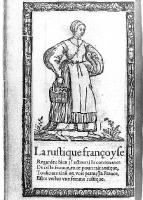 1567 - French Peasant -  Illustrations de Recueil de la diversité des habits qui sont de présent usage tant es pays d'Europe, Asie, Afrique et isles sauvages