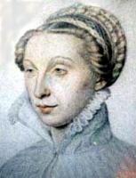 1560 - Conde, Madame de Movy Saint Phal - artist unknown (Clouet?)