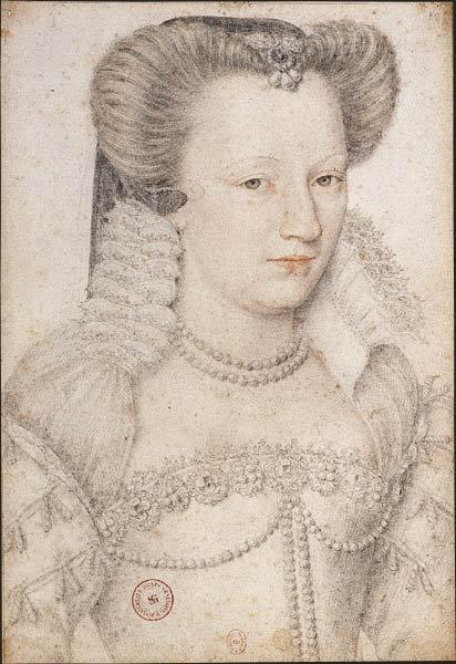 1575 - Louise de Lorraine - Clouet